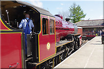 SD8022 : Arrival at Rawtenstall by Stephen McKay