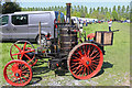 SK2406 : Statfold Barn Railway - half scale replica of a Canadian steam tractor by Chris Allen