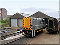 SD8010 : East Lancashire Railway Shunter at Buckley Wells by David Dixon