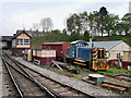 SD8010 : East Lancashire Railway, Buckley Wells Sidings by David Dixon