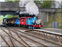 SD8010 : Thomas Arrives at Bury by David Dixon
