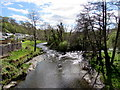SN9347 : Island in the River Irfon, Llangammarch Wells, Powys by Jaggery