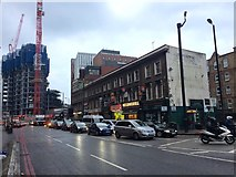 TQ3282 : City Road, Shoreditch by Chris Whippet