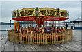 SH7883 : Merry-go-round, Llandudno Pier by Matt Harrop