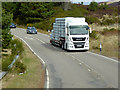 NJ0040 : HGV on the A940 near Dava by David Dixon