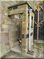 TA0489 : Outside toilet on St Mary's church, Scarborough by John S Turner