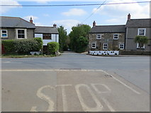 SW5932 : Crossroad in Townshend by Peter Wood