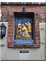 TF9336 : A mixed Stations of the Cross at Walsingham (III) by Basher Eyre
