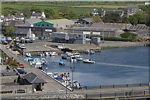 SC2667 : Inner harbour at Castletown by Richard Hoare