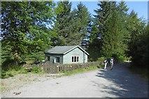 NS5379 : Hut, Carbeth by Richard Webb