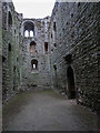 TF6624 : Inside Castle Rising, Norfolk by Christine Matthews
