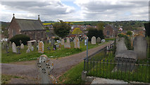 ST0107 : Cullompton : Cemetery by Lewis Clarke