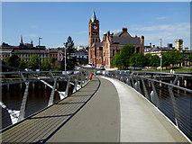 C4316 : Peace Bridge, Derry / Londonderry by Kenneth  Allen