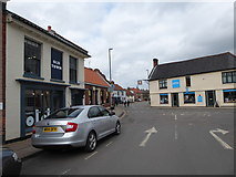 TG0738 : Old Town, Bull Street, Holt by Basher Eyre