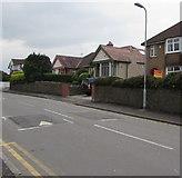 ST3090 : Vote Labour placard, Pillmawr Road, Malpas, Newport by Jaggery
