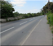 SO8104 : West along Ebley Road, Stonehouse by Jaggery