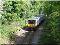 TQ5288 : Train on the Upminster to Romford line by Marathon