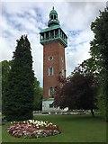 SK5319 : War Memorial Carillon by John H Darch