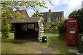SP7301 : Shelter and defibrillator,  Sydenham by Robert Eva