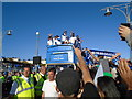 TQ2904 : Brighton & Hove Albion promotion parade by Paul Gillett
