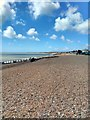 TQ6503 : Beach at Pevensey by PAUL FARMER