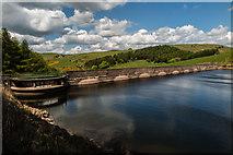 SJ9775 : Lamaload Dam by Peter McDermott