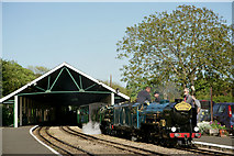 TR1534 : 'Hurricane' and 'Northern Chief' at Hythe by Peter Trimming