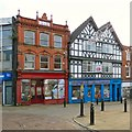 SJ8990 : False frontages on Great Underbank by Gerald England