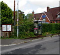 SO3406 : Village phonebox, Llanfair Kilgeddin, Monmouthshire  by Jaggery