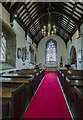SK8386 : North aisle, St Helen's church, Lea by Julian P Guffogg