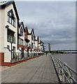 ST3187 : Riverside housing, Newport by Jaggery