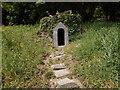 SS2424 : Garden feature - Hartland Abbey by Betty Longbottom
