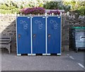 SS5247 : Cycle Lockers near Harbour Master's Office by Betty Longbottom