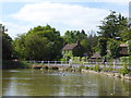 TQ5993 : Mill Pond on Shenfield Common by Marathon