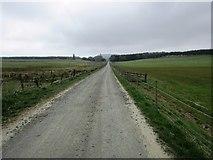 NO2103 : Road from Holl Reservoir, Lomond Hills by Bill Kasman