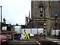 H4472 : Renovations at Sacred Heart Church, Omagh by Kenneth  Allen