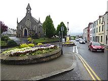 H4472 : Church Street, John Street and James Street, Omagh by Kenneth  Allen