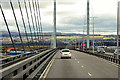 NH6647 : Heading South on the Kessock Bridge by David Dixon