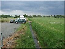 TG0800 : Drain near Low Farm by JThomas