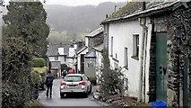 SD3598 : Vicarage Lane, Hawkshead by Chris Brown