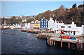 NM5055 : Tobermory Waterfront 1983 by Des Blenkinsopp