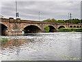 SK2523 : River Trent, Burton Bridge by David Dixon