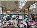 SK2522 : Burton on Trent Market Hall (Interior) by David Dixon