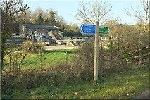 SW9873 : Wadebridge sewage works by Derek Harper