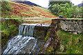 NT1237 : Dam, Hollows Burn by Mick Garratt