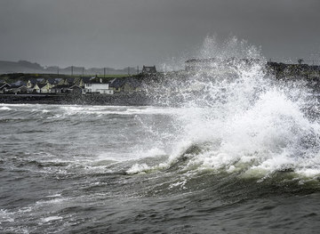 NX3343 : Storm by James Johnstone