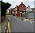 ST2996 : No parking in Russell Street, Pontnewydd, Cwmbran by Jaggery