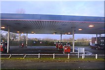 TA0832 : Filling Station, Beverley Rd by N Chadwick