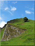 SK1382 : At the eastern end of Winnats Pass by Neil Theasby