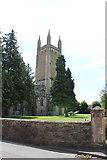 ST5445 : St Cuthbert's Church (1) by Chris' Buet